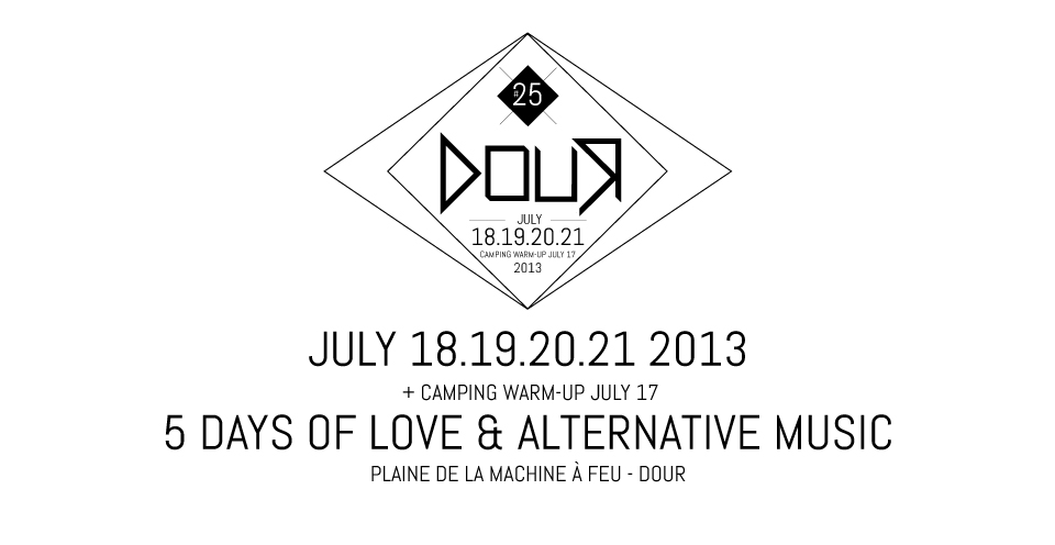 Dour Festival 2013 Lineup Announced & Tickets Info